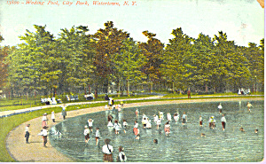 Wading Pool City Park Watertown New York P21599