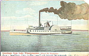 Steamer Mt Washington on Lake Winnipesaukee p21726 (Image1)