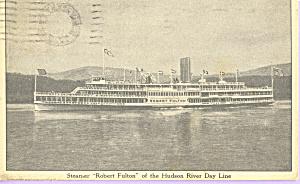 Steamer Robert Fulton Hudson River Day Line p21727 (Image1)