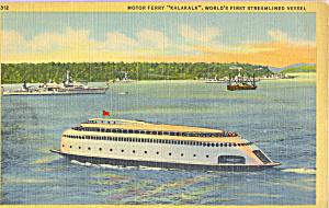 Motor Ferry Kalakala First Streamline Vessel p21729 (Image1)