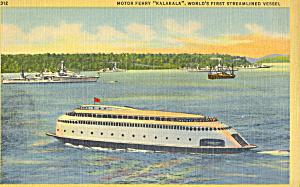 Steamer Robert Fulton of the Hudson River Day Line p21730 (Image1)