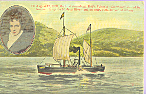 Robert Fulton s First Steamboat  Clermont p21733 (Image1)
