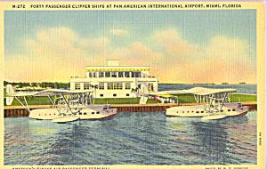 Passenger Clipper Planes at Pan American International p21737 (Image1)