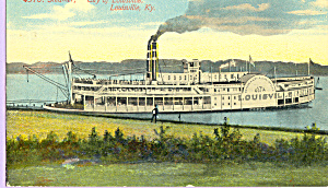 Steamer City of Louisville KY p21748 (Image1)