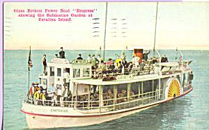 Glass Bottom Power Boat Empress at Catalina Island CA p21750 (Image1)