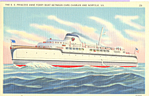 SS Princess Anne Ferry Boat p21754 (Image1)