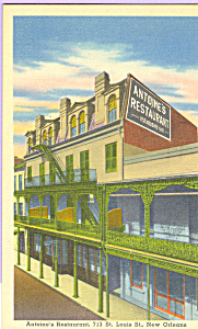 Antoine s Restaurant New Orleans  Louisiana p21792 (Image1)
