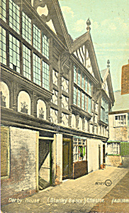 Derby House Stanley Palace Chester AD 1591 p21794 (Image1)