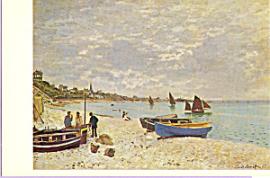 Beach at Ste Adresse, Claude Monet (Image1)