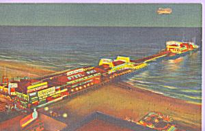 Atlantic City New Jersey Steel Pier at Night p21812 (Image1)