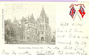 Victoria College, Toronto, Ontario, Canada (Image1)