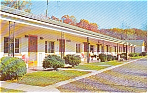 East Stroudsburg Pa Laurel Court Motel Postcard P2186