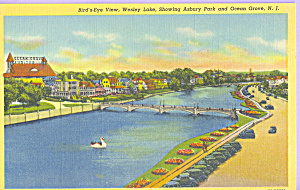 Wesley Lake Asbury Park And Ocean Grove New Jersey P21870