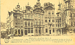 Brussels Belgium Grand Place P21928