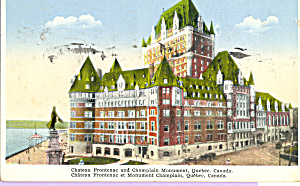 Chateau Frontenac Quebec Canada P21965