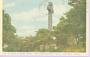 The Cross, Mount Royal,Montreal, Canada (Image1)