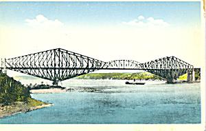 The Quebec Bridge Quebec Canada p21979 (Image1)