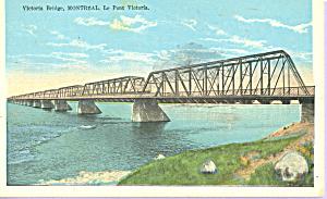 Victoria Bridge, Montreal,Quebec, Canada (Image1)