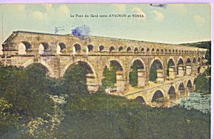 Le Pont du Gard entre Avignon et Nimes (Image1)