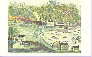Coryell s Ferry 1776 Joseph Pickett Postcard p22012 (Image1)