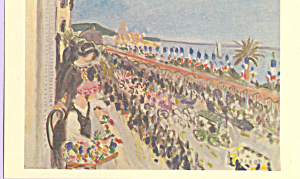 Carnival at Nice Henri Matisse Postcard p22013 (Image1)