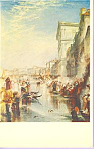 The Grand Canal Venice Shylock  J M W Turner Postcard p22014 (Image1)