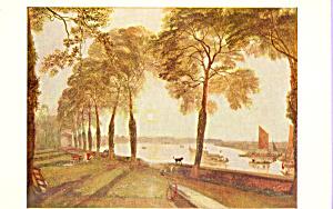 Mortlake Terrace  Turner Postcard p22018 (Image1)