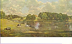 Wivenhoe Park Essen  Constable Postcard p22020 (Image1)