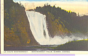 Montmorency Falls, Quebec, Canada (Image1)