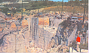 Rock of Ages Quarry Barre Vermont  Modern Chrome  p22069 (Image1)