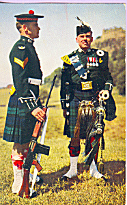 Scottish Military Life Corporal and Piper p22072 (Image1)