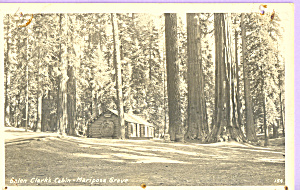 Galen Clark's Cabin,Yosemite National Park (Image1)