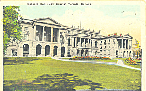 Osgoods Hall (Law Courts) Toronto, Canada (Image1)