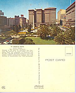 St Francis Hotel,San Francisco, California (Image1)