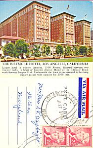 Biltmore Hotel Los Angeles California p22268 (Image1)