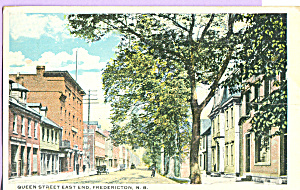 Queen Street East End, Fredericton,New Brunswick (Image1)