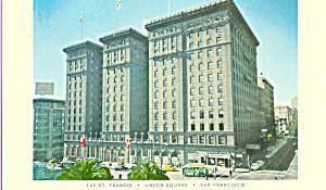 St Francis Hotel, San Francisco,California (Image1)
