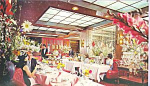 Fairmont  Hotel Squire Restaurant San Francisco (Image1)