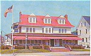Ocean City NJ Plymouth Inn Postcard p2233 (Image1)