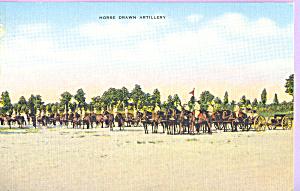 Horse Drawn Artillery (Image1)