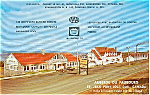 St Jean Port Joli Handicrafts Postcard P2234