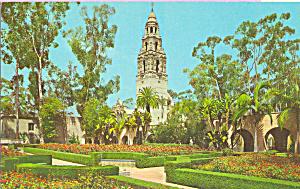 Alcazar Gardens,Balboa Park, San Diego, California (Image1)