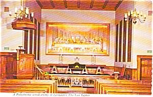 Nashville TN Upper Room Chapel Postcard p2237 (Image1)