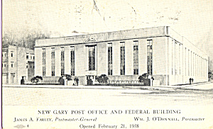 Post Office and Federal Building, Gary, Indiana (Image1)
