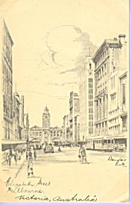 Elizabeth Street Melbourne, Victoria,Australia (Image1)