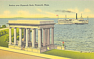 Portico Over Plymouth Rock,Plymouth, Massachusetts (Image1)