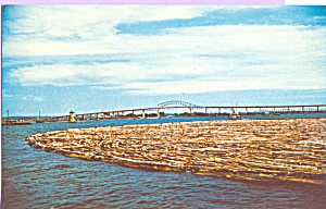 Log Boom Sault Ste Marie Michigan p22545 (Image1)