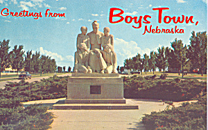 Father Flanagan Statute,Boy's Town, Nebraska (Image1)