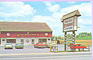 Amish Barn Restaurant Route 340 Pennsylvania p22570 (Image1)