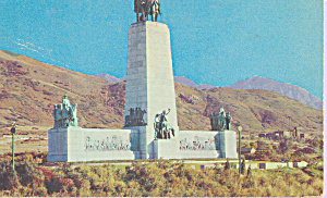 This Is The Place Monument Salt Lake City Utah P22598